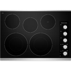 "KitchenAid Electric Cooktops - Kitchenaid 30"" Built-In Electric Cooktop"