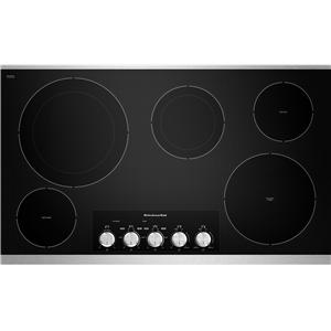 "36 "" Built-In Electric Cooktop"