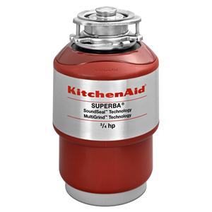 KitchenAid Food Disposals 3/4 HP Continuous Feed Disposer