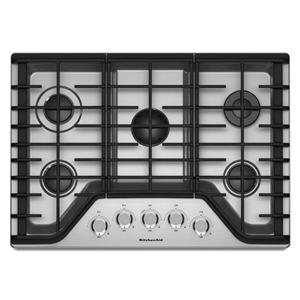 KitchenAid Gas Cooktops 30'' 5-Burner Gas Cooktop