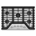 KitchenAid Gas Cooktops 30'' 5-Burner Gas Cooktop - Item Number: KCGS350ESS