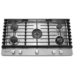 KitchenAid Gas Cooktops 36'' 5-Burner Gas Cooktop