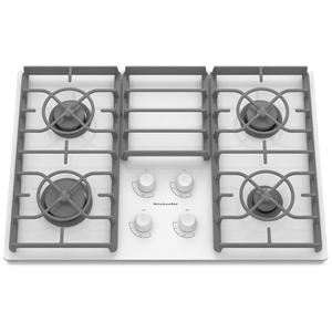 Kitchenaid Kgcc506rww30 Built In Gas Cooktop With 4 Sealed Burners