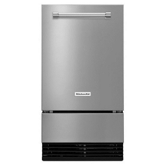 KitchenAid Ice Makers 18'' Automatic Ice Maker - Item Number: KUID308ESS