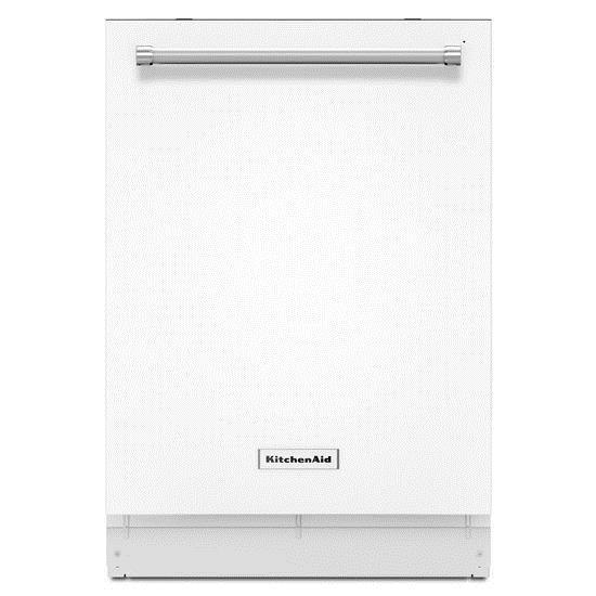 KitchenAid KitchenAid Dishwashers Energy Star® 39 dBA Dishwasher - Item Number: KDTE254EWH