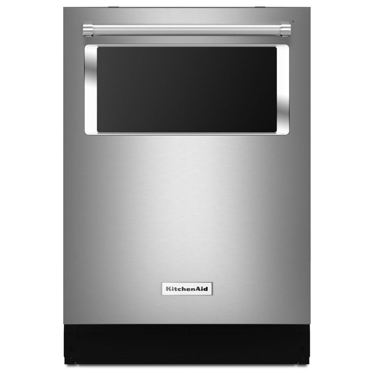 KitchenAid KitchenAid Dishwashers 44 dBA Windwo Dishwasher - Item Number: KDTM384ESS