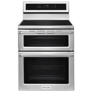 "KitchenAid KitchenAid Electric Ranges 30"" 5 Burner Induction Convection Range"