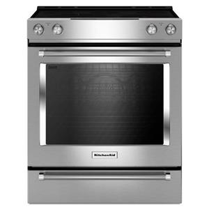 KitchenAid KitchenAid Electric Ranges 30-Inch Electric Slide-In Convection Range