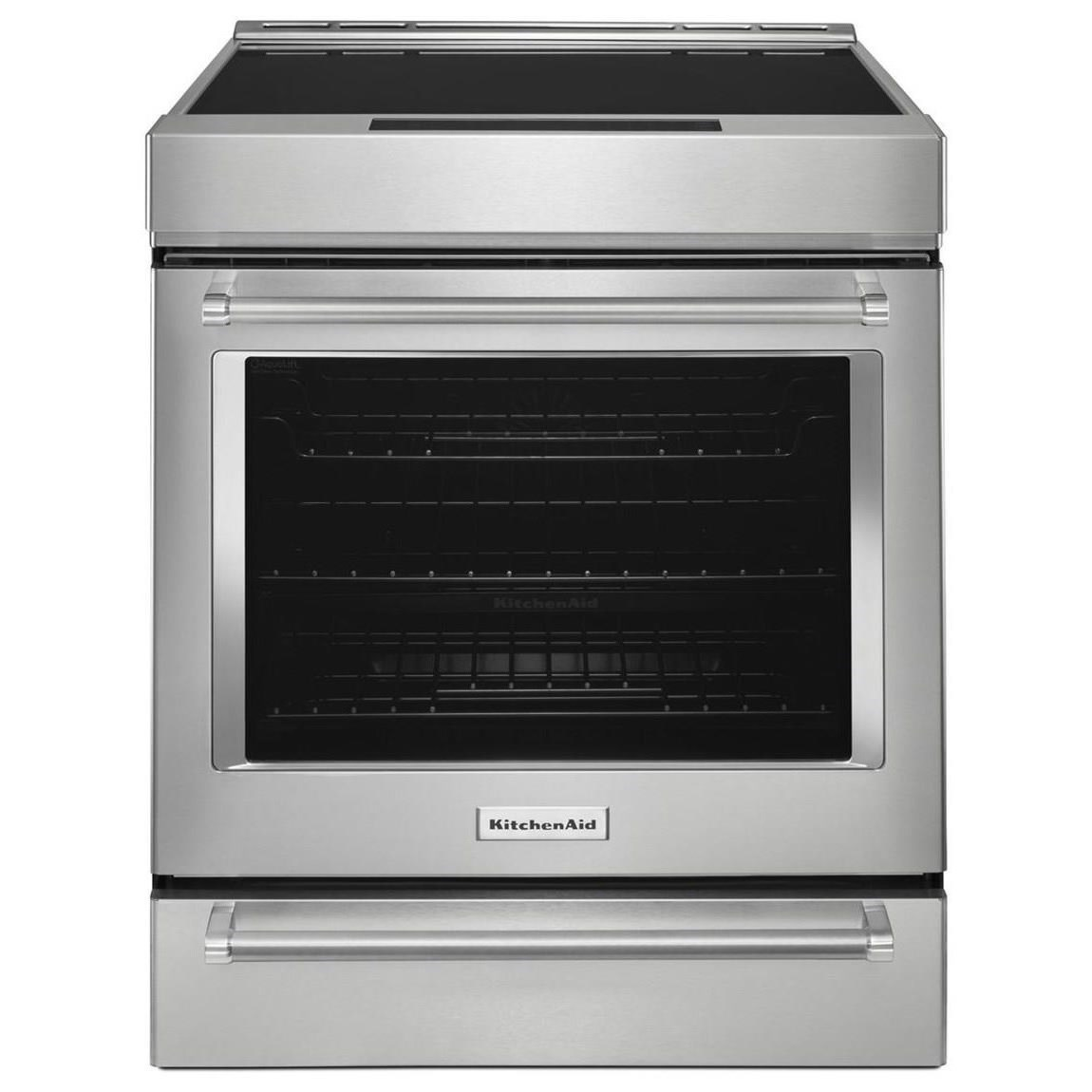 Superbe KitchenAid KitchenAid Electric Ranges 30 Inch 4 Element Induction  Convection Range   Item Number