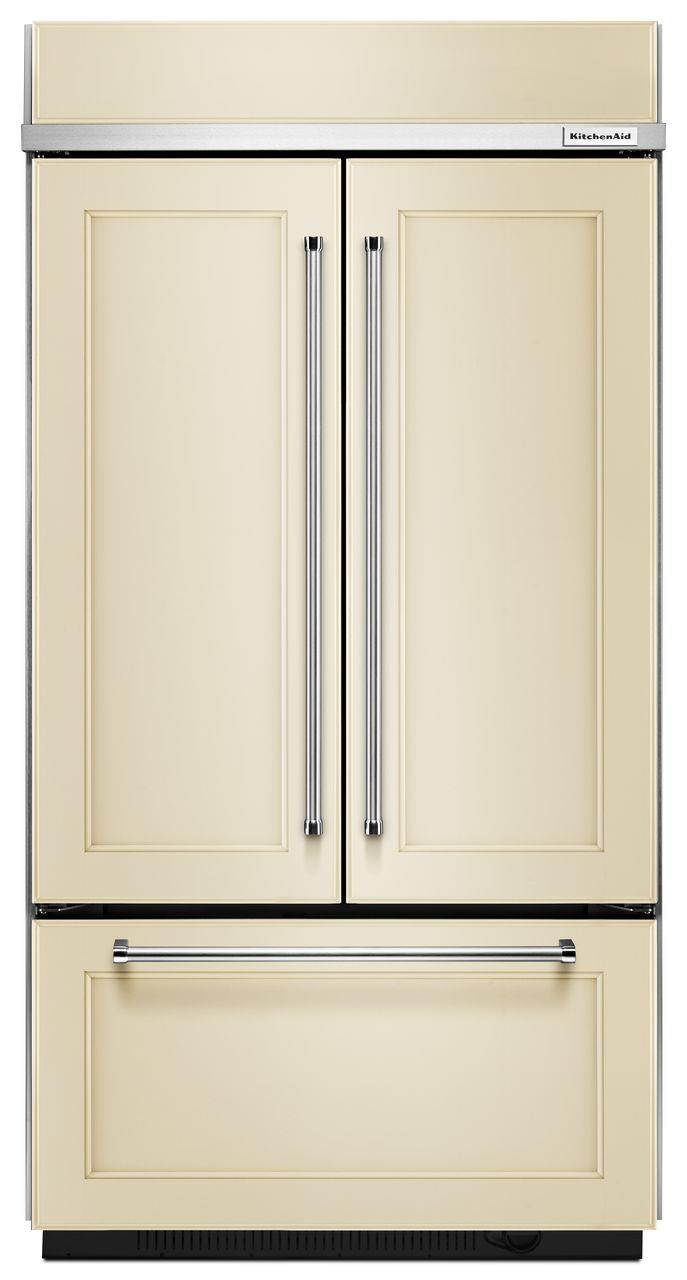 "KitchenAid KitchenAid French Door Refrigerators 42"" Built-In French Door Refrigerator - Item Number: KBFN502EPA"