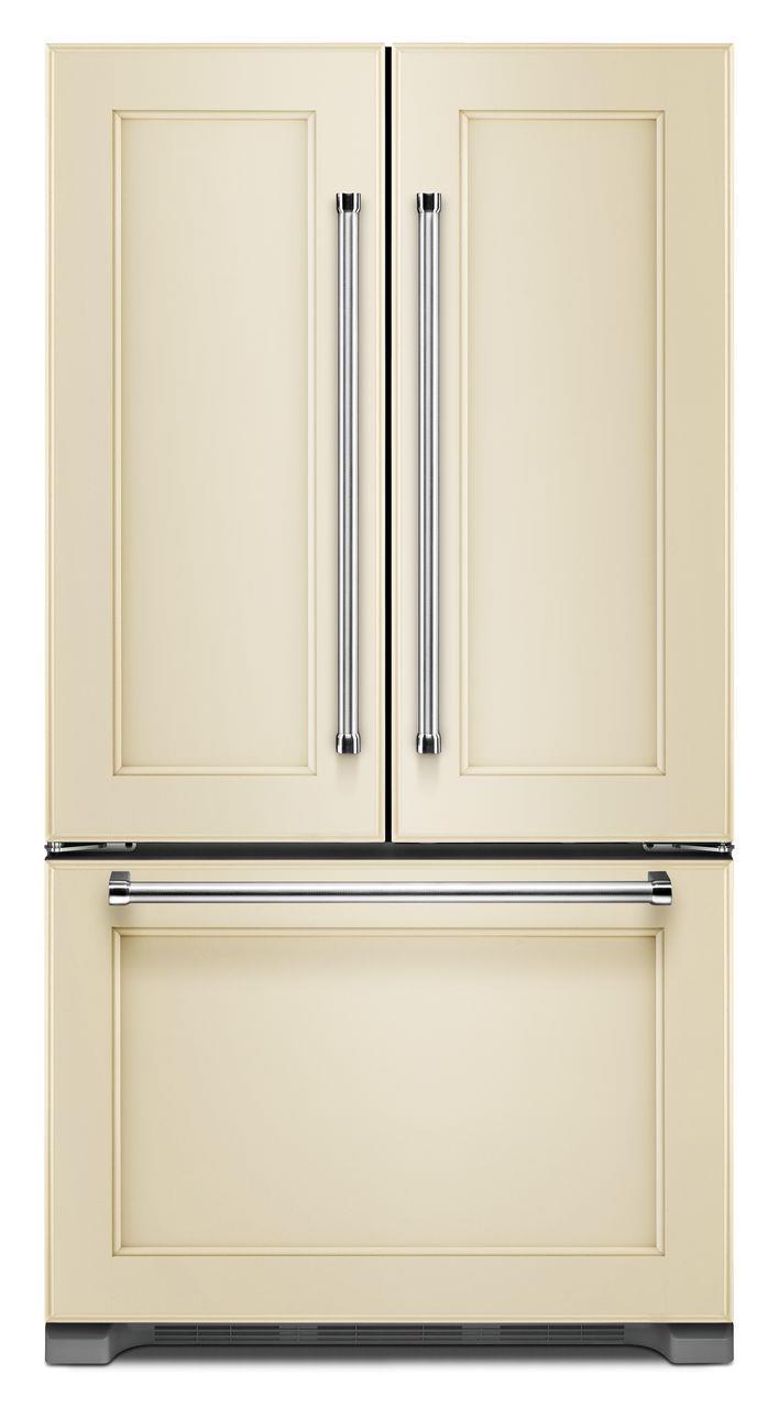KitchenAid KitchenAid French Door Refrigerators 22 Cu. Ft. Counter Depth French Door Fridge - Item Number: KRFC302EPA