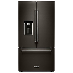 "KitchenAid KitchenAid French Door Refrigerators 23.8 Cu.Ft. 36"" Counter-Depth French Door"
