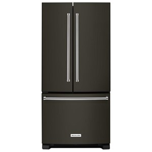 "KitchenAid KitchenAid French Door Refrigerators 22 Cu. Ft. 33"" French Door Refrigerator"