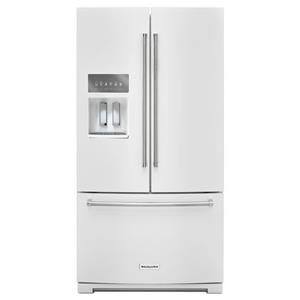 "KitchenAid KitchenAid French Door Refrigerators 26.8 cu. ft. 36"" French Door Refrigerator"