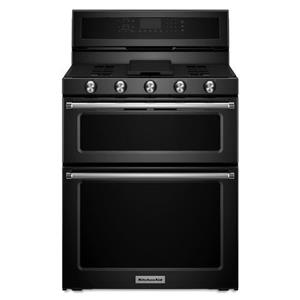 KitchenAid KitchenAid Gas Ranges 30-Inch 5 Burner Gas Double Oven Convection