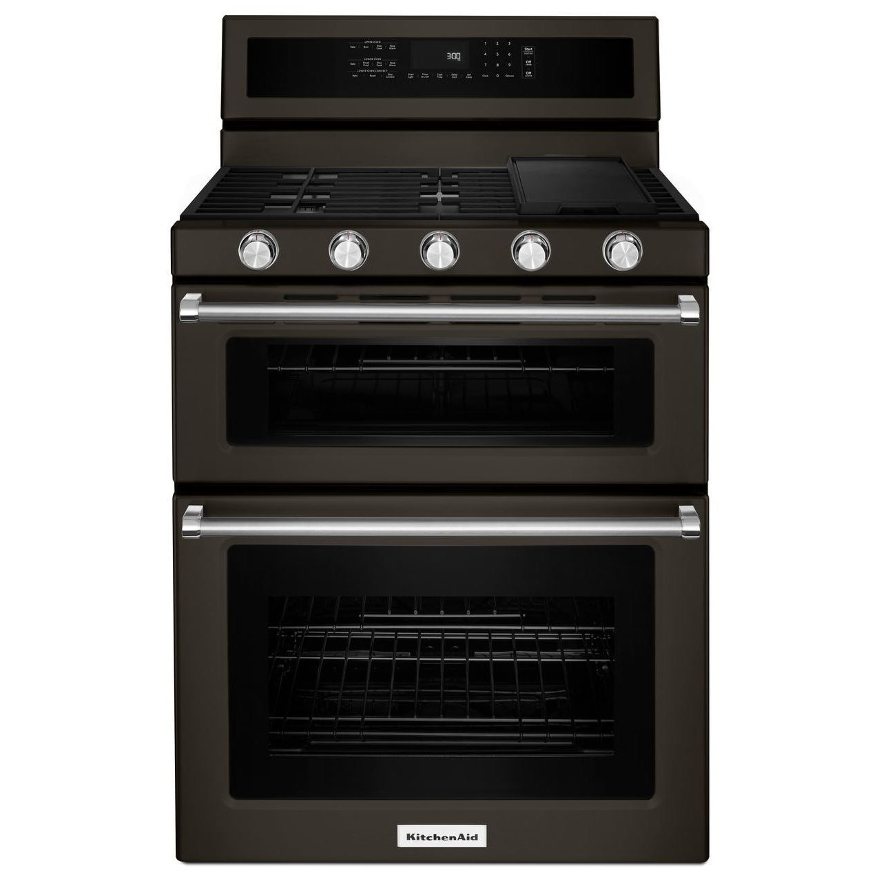 "30"" 5 Burner Gas Convection Double Oven"