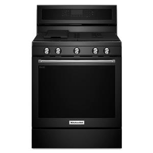 KitchenAid KitchenAid Gas Ranges 30-Inch 5-Burner Gas Convection Range