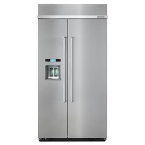 "KitchenAid KitchenAid Side-by-Side Refrigerator 25.0 Cu. Ft. 42"" Side by Side Refrigerator"