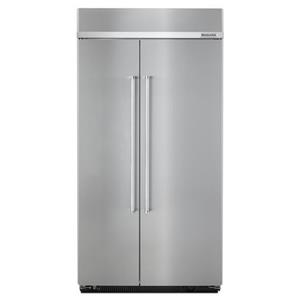 "KitchenAid KitchenAid Side-by-Side Refrigerator 42"" Width Built-In SideXSide Refrigerator"