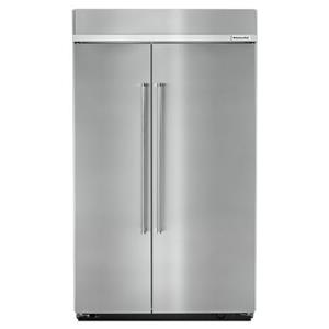 "KitchenAid KitchenAid Side-by-Side Refrigerator 30.0 cu. ft 48"" Side by Side Refrigerator"