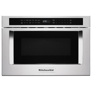 "KitchenAid Microwaves - Kitchenaid 24"" Under-Counter Microwave Oven Drawer"