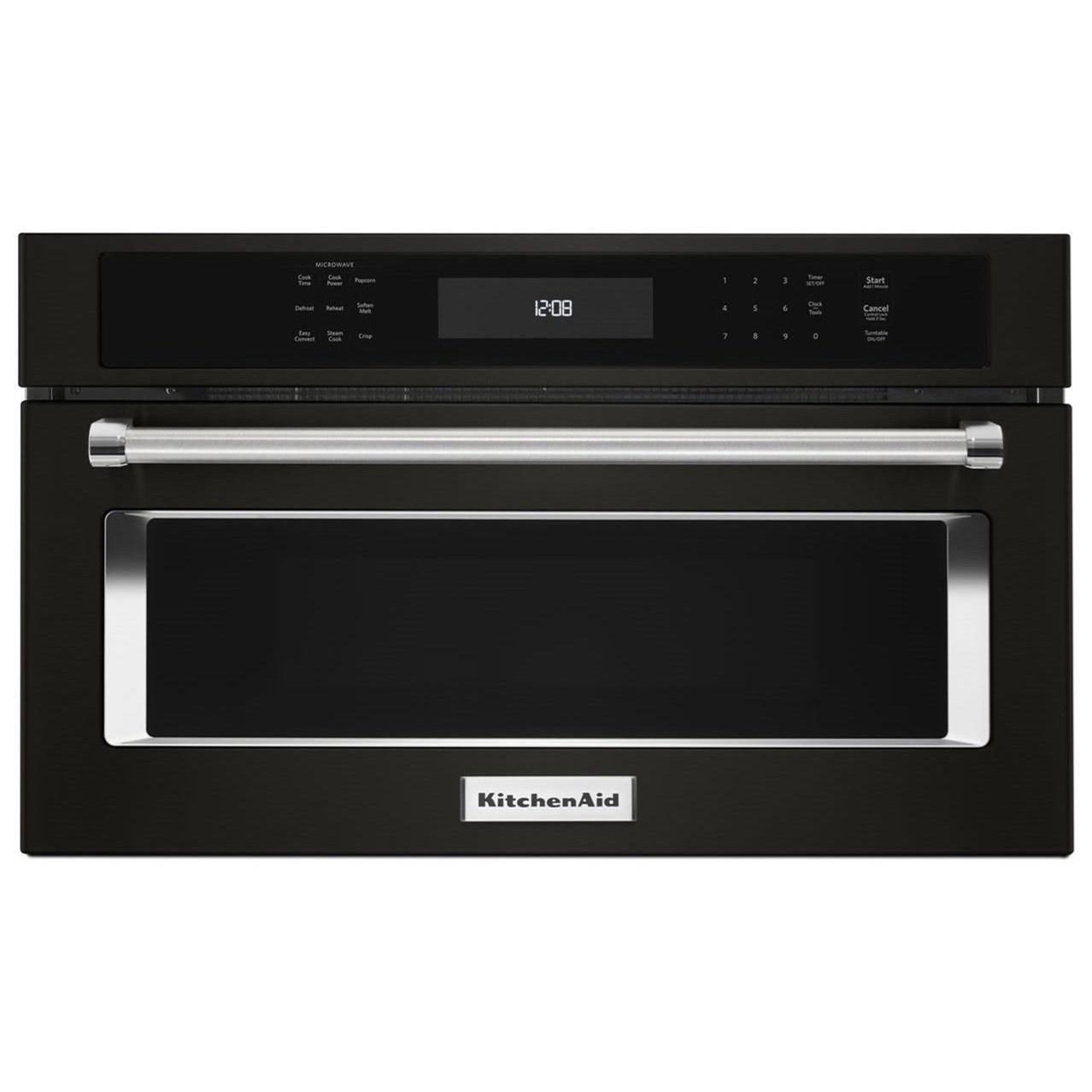 "KitchenAid Microwaves - Kitchenaid 30"" Built-In Microwave Oven - Item Number: KMBP100EBS"