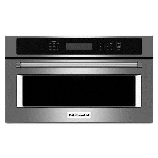 "KitchenAid Microwaves  30"" Built-In Microwave Oven - Item Number: KMBP100ESS"
