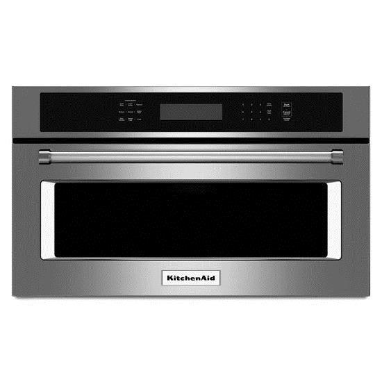 "KitchenAid Microwaves  27"" Built-In Microwave Oven - Item Number: KMBP107ESS"