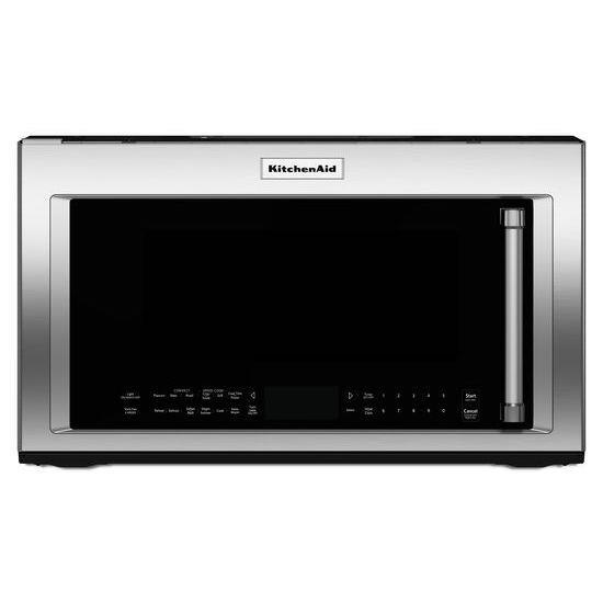 KitchenAid Microwaves  1.9 cu. ft. 1200-Watt Convection Microwave - Item Number: KMHP519ESS