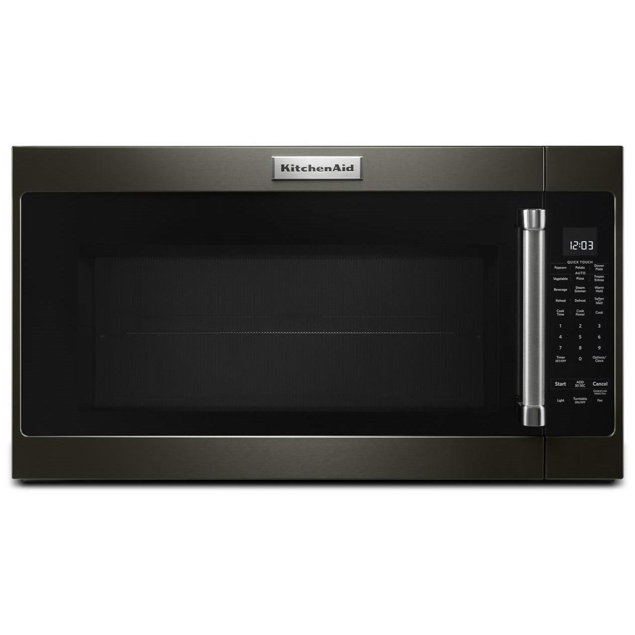 kitchenaid kmhs120ebs 2.0 cu. ft. 1000-watt microwave with