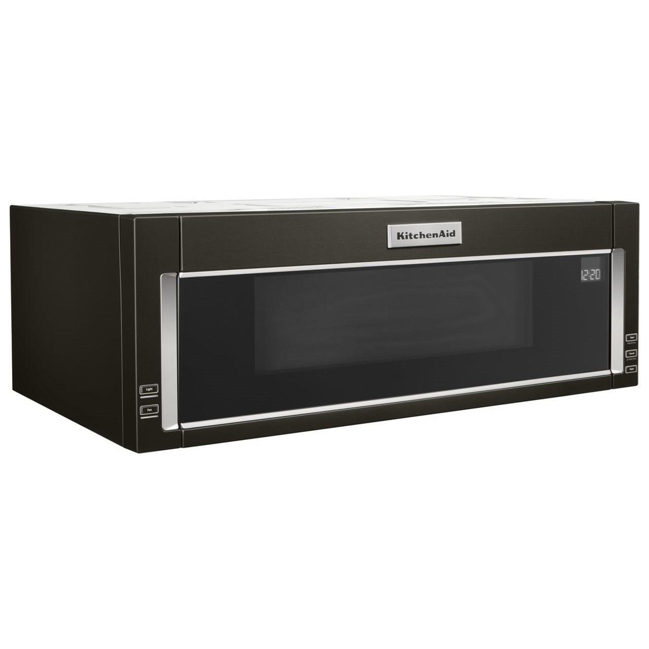 kitchenaid kmls311hbs 1000-watt low profile microwave hood