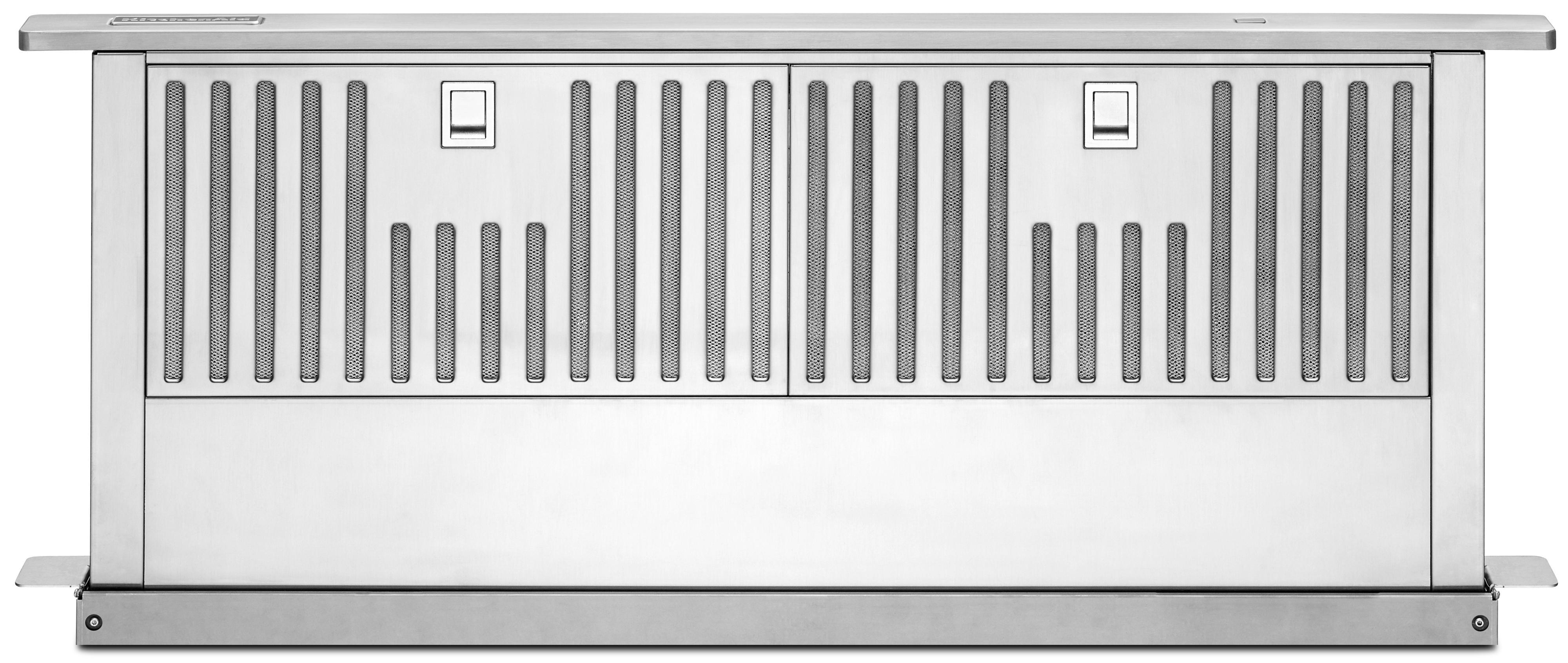 "KitchenAid Range Hoods 36"" Downdraft System - Item Number: KXD4636YSS"