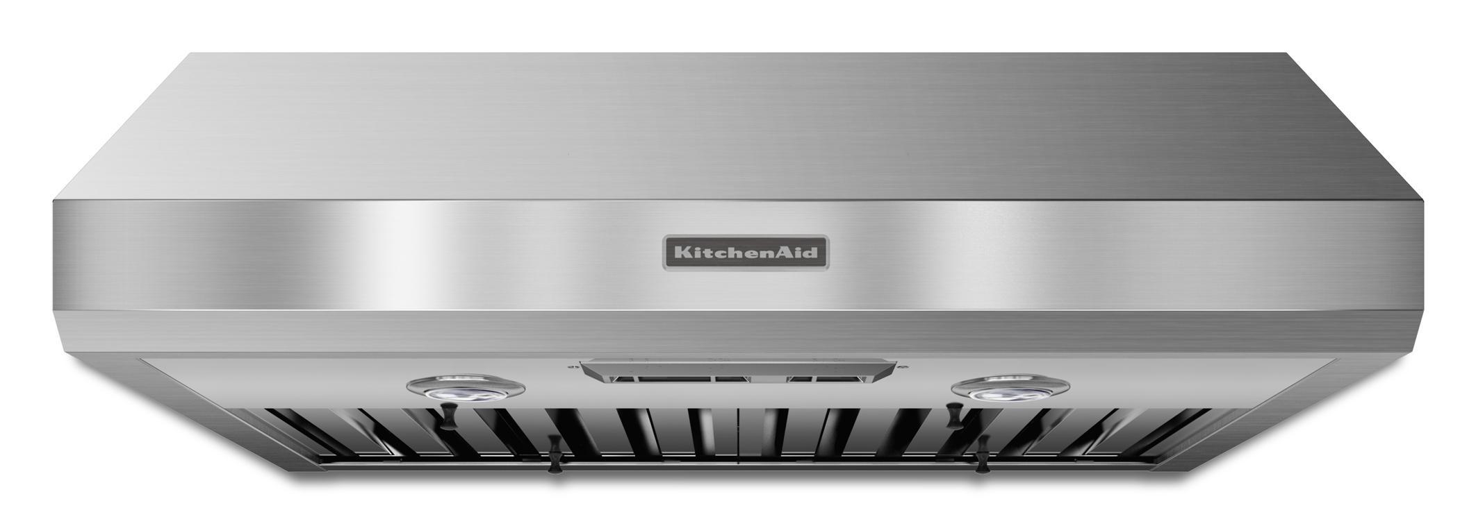 "KitchenAid Range Hoods 30"" Under-the-Cabinet Range Hood - Item Number: KXU8030YSS"
