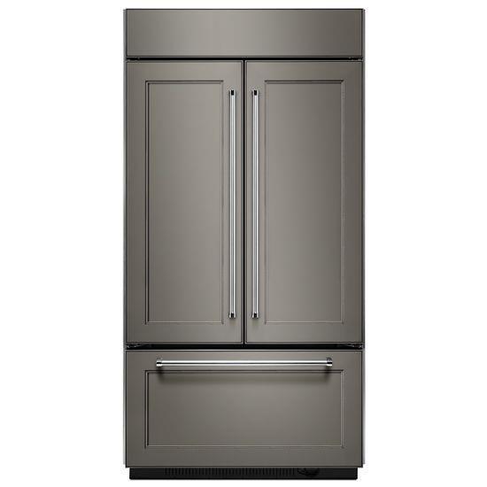 "KitchenAid Refrigerators - French Door 24.2 Cu. Ft. 42"" French Door Refrigator - Item Number: KBFN402EPA"