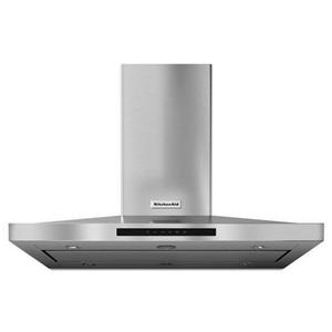 KitchenAid Vents and Hoods - 2014 42'' Island-Mount, 3-Speed Vent Hood