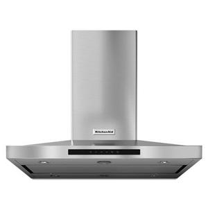 "KitchenAid Vents and Hoods - 2014 36"" Island-Mount, 3-Speed Vent Hood"