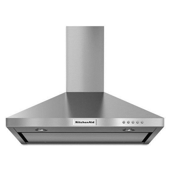 KitchenAid Vents and Hoods - 2014 30'' Wall-Mount, 3-Speed Canopy Hood - Item Number: KVWB400DSS