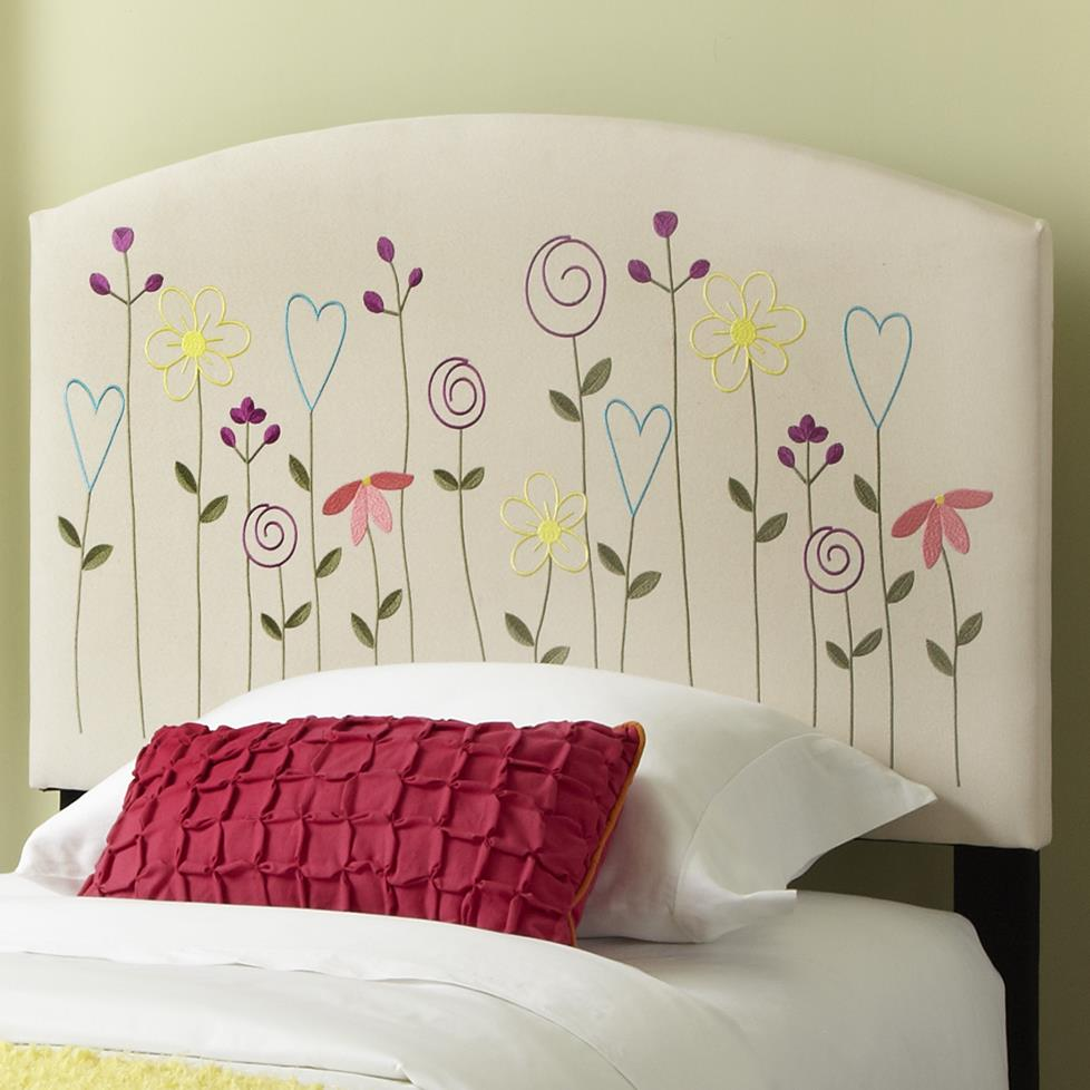 Kith Furniture Kourtney Twin Flower Headboard - Item Number: 170-31