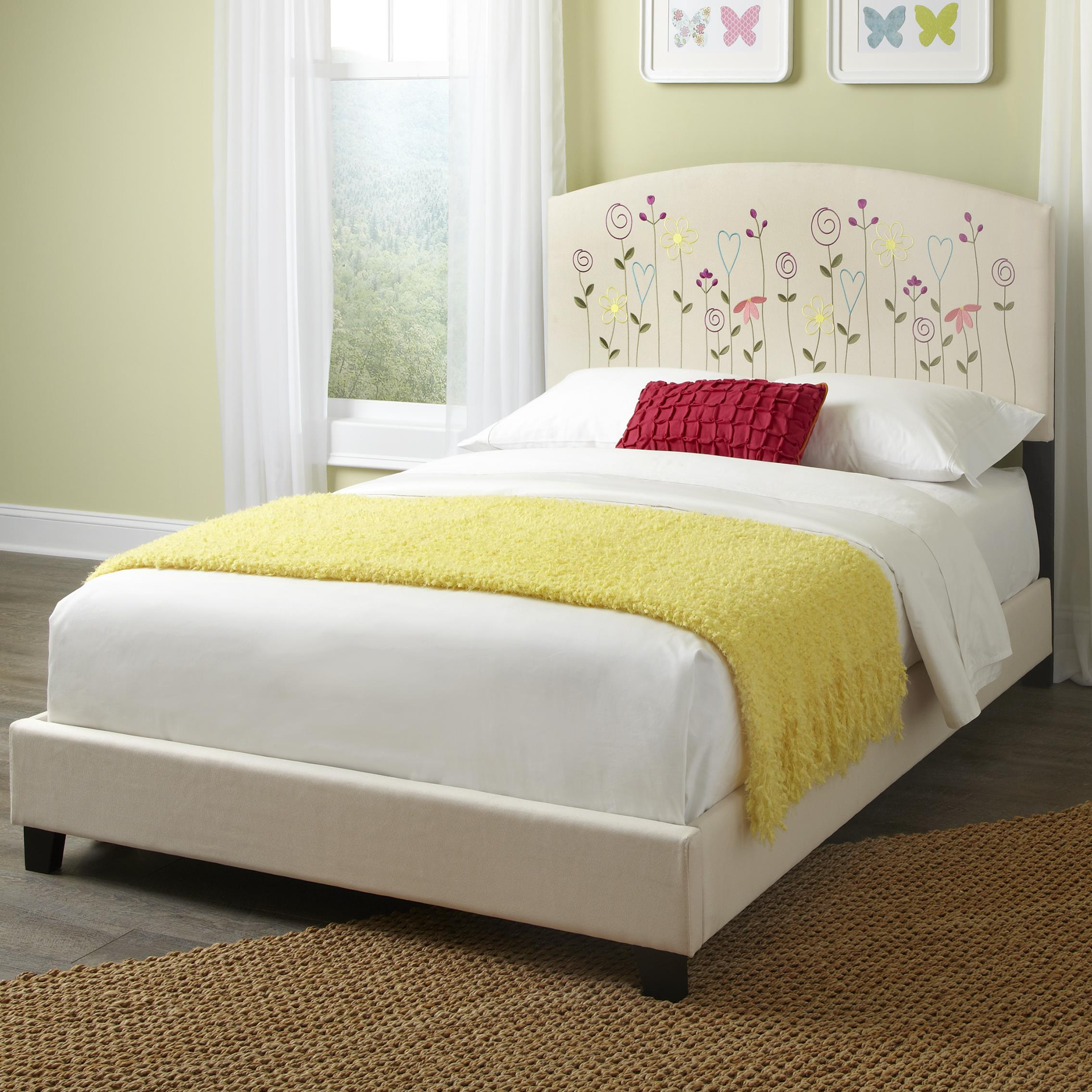 Kith Furniture Kourtney Full Flower Headboard and Footboard - Item Number: 170-41+42