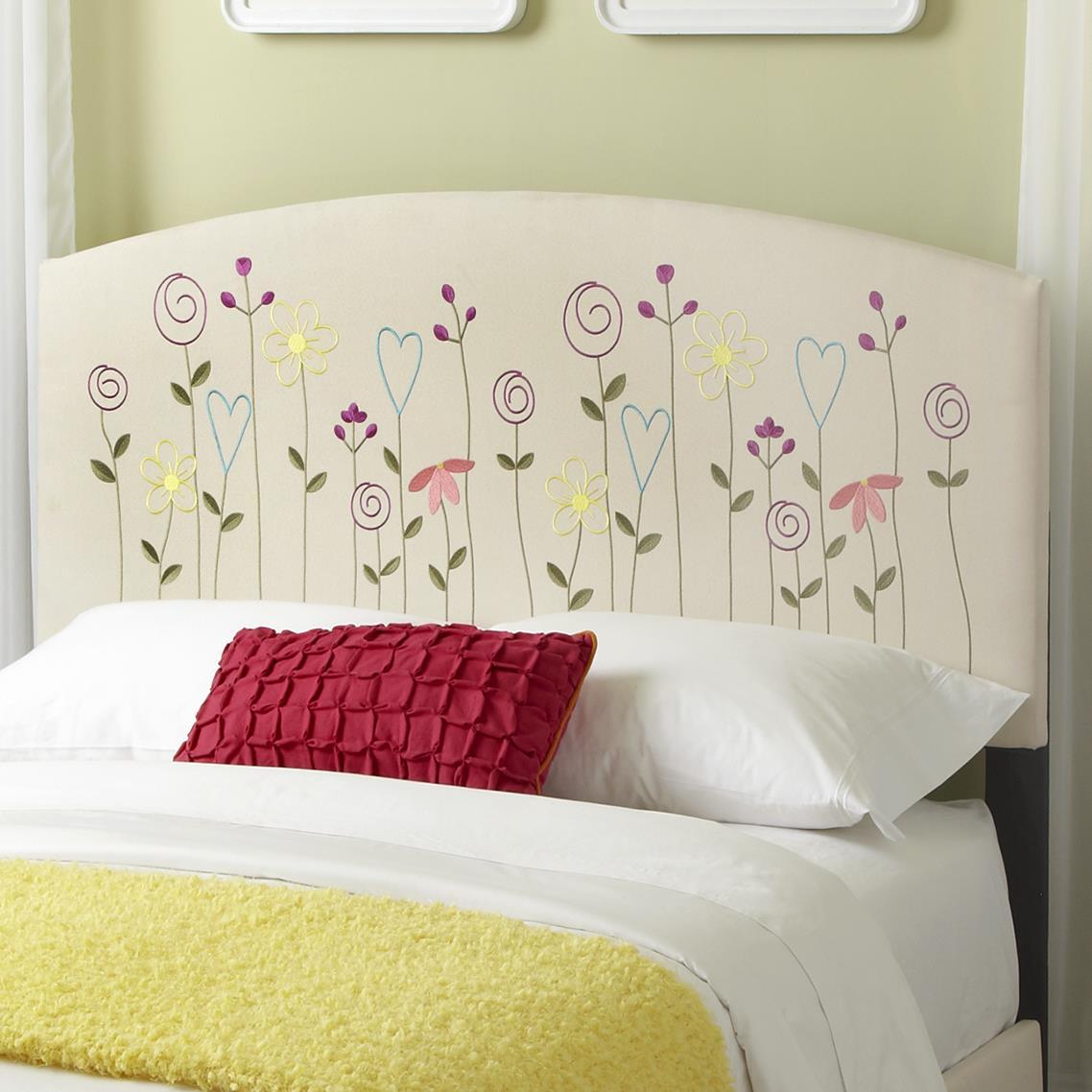 Kith Furniture Kourtney Full Flower Headboard - Item Number: 170-41