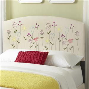 Kith Furniture Kourtney Full Flower Headboard