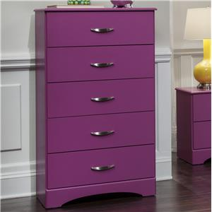 Kith Furniture 171 Raspberry 5 Drawer Chest