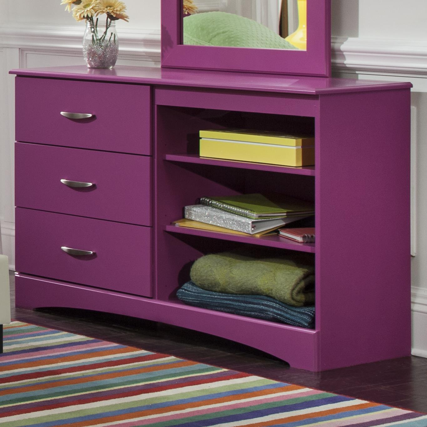 Kith Furniture 171 Raspberry Dresser - Item Number: 171-12