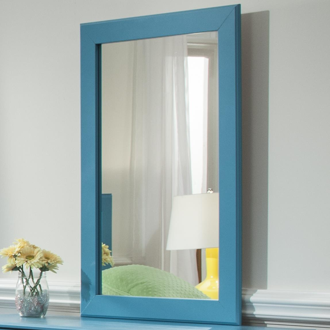 Kith Furniture 173 Turquoise Mirror - Item Number: 173-01