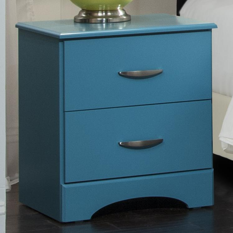 Kith Furniture 173 Turquoise Nighstand - Item Number: 173-02