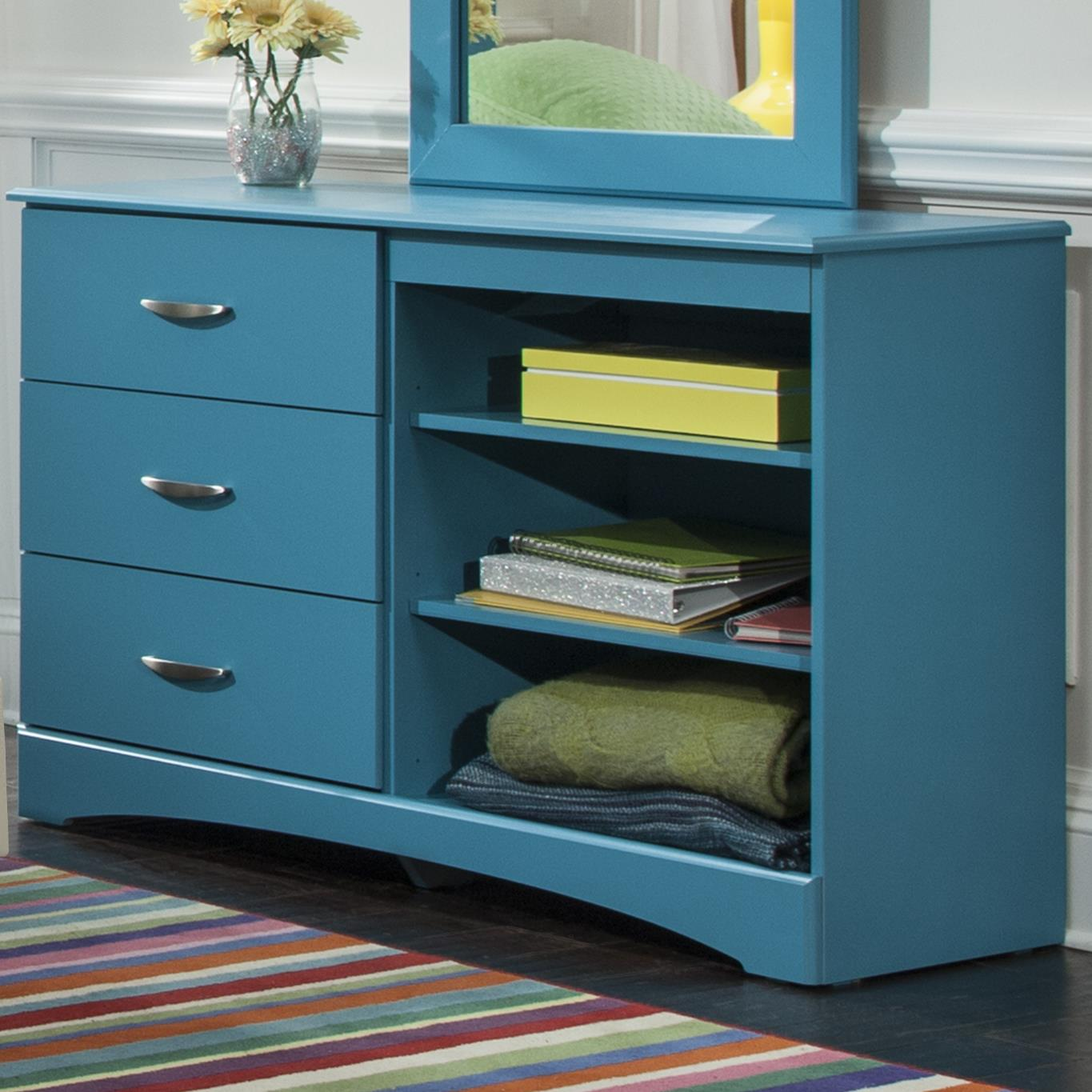 Kith Furniture 173 Turquoise Dresser - Item Number: 173-12