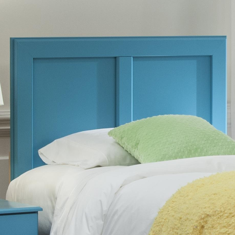 Kith Furniture 173 Turquoise Twin Panel Headboard - Item Number: 173-33