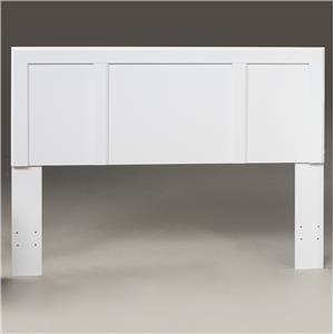 Kith Furniture 193 White Twin Headboard