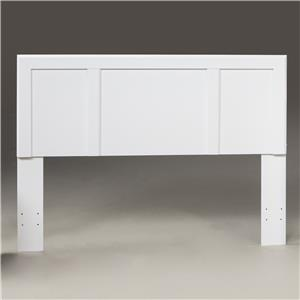 Kith Furniture 193 White F/Q Headboard
