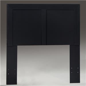 Kith Furniture 195 Black Twin Headboard